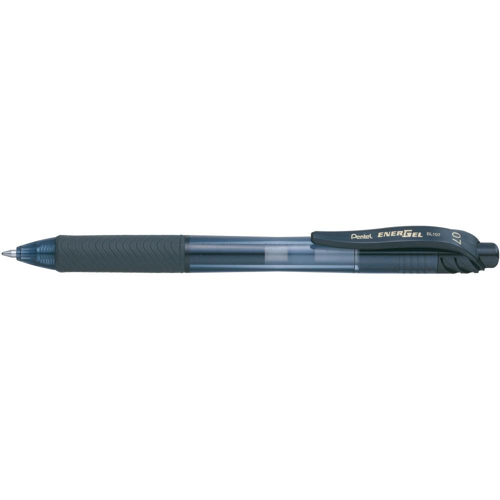 PENTEL ENERGEL X GEL PEN BL107 Retractable 0.7mm Black