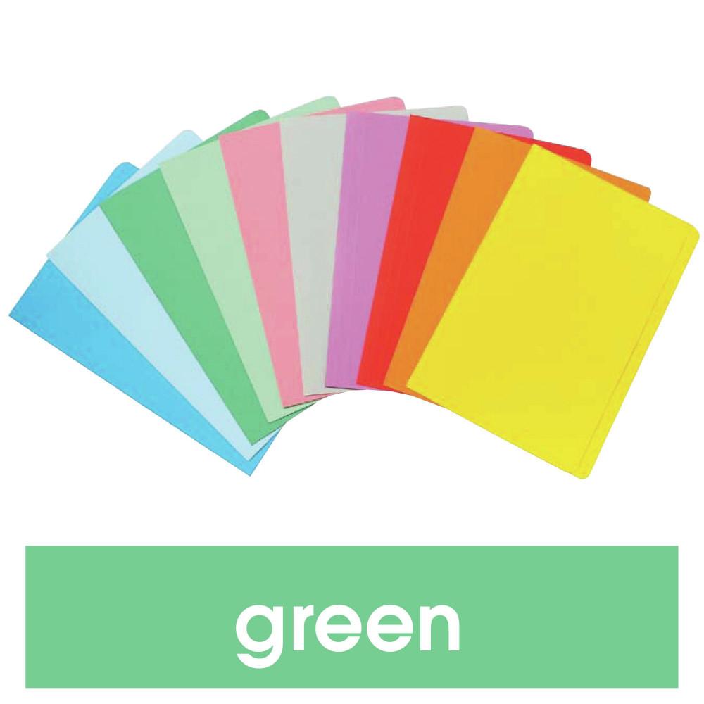 MARBIG MANILLA FOLDER F/Cap Green (PK20)