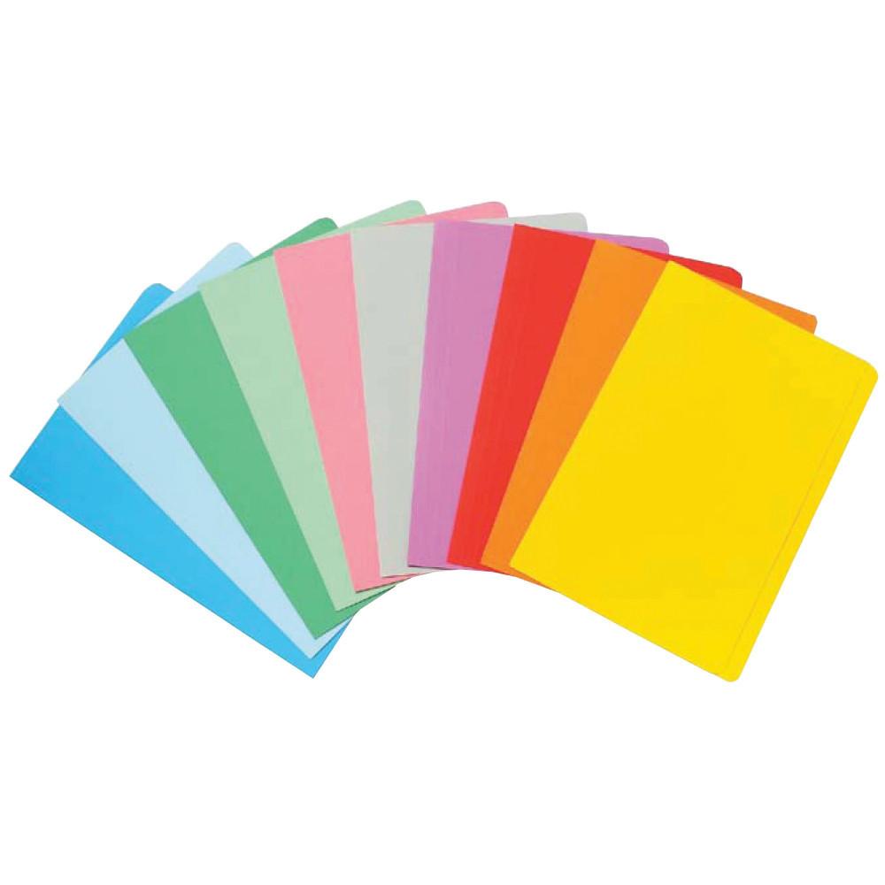 MARBIG MANILLA FOLDER F/Cap Assorted Colours (PK20)