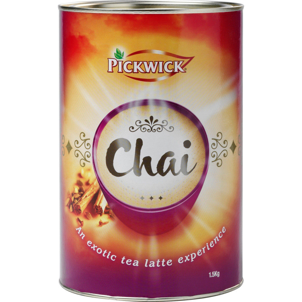 PICKWICK CHAI LATTE TEA 1.5kg Tin