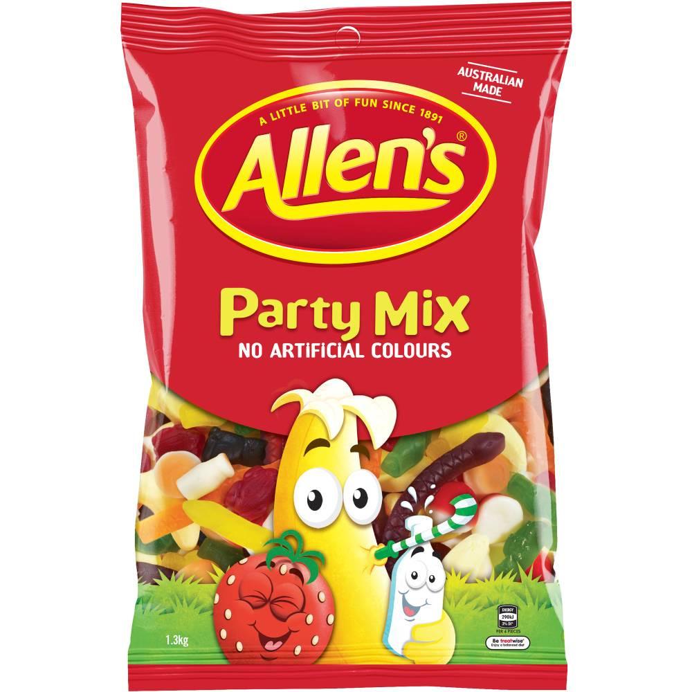 ALLEN'S CONFECTIONERY Party Mix 1.3kg