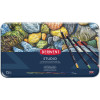 DERWENT STUDIO PENCILS Set 72 TIN Full Range