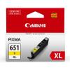CANON - CLI651XL - High Yeild Cartridge - Yellow