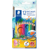 STAEDTLER AQUARELL PENCILS Noris Club Asst Colours Pk12