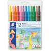 STAEDTLER NORIS CLUB CRAYONS Wax Twister Assorted 12