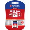 VERBATIM� SDHC MEMORY CARDS 16GB (Class 10)