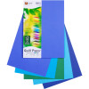 QUILL A4 XL MULTIOFFICE PAPER 80gsm Assorted Cold Colours