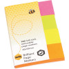 MARBIG BRILLIANT PAGE MARKERS 20x50mm 160Sht Assorted
