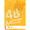 OFFICE CHOICE BINDER BOOK A4 48pg 7 Hole