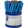 STAEDTLER STICK 430 BALL PEN Medium Cup 50