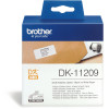BROTHER LABEL PRINTER LABELS Address Small 29X62mm White