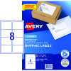 AVERY L7165 MAILING LABELS Laser 8/Sht 99.1x67.7mm