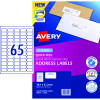 Avery Quick Peel Address Laser Labels L7651 38.1x21.2mm White 1625 Labels, 25 Sheets