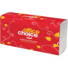 OFFICE CHOICE HAND TOWEL Ultraslim 230x235mm 150 sheet Suit H4 Dispenser,Carton of 16 (R16150A)