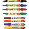 ARTLINE 70 PERMANENT MARKERS Med Bullet Assorted