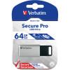 VERBATIM STORE 'N' GO USB Encrypted 64GB Silver