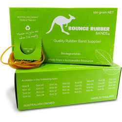Bounce Rubber Bands SIZE 65 Box 100gm