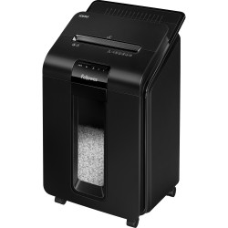 FELLOWES® SHREDDER 100M AutoMax AutoFeed Mini Cut Black