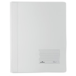DURABLE FLAT FILE A4 Extra Wide Premium White Translucent