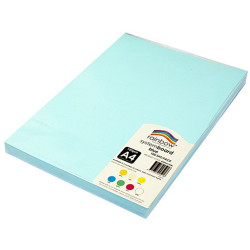 RAINBOW SYSTEM BOARD 150GSM A4 Blue  Pack of 100