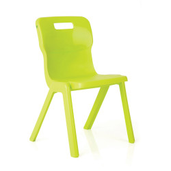 TITAN EDUCATION 4 LEG CHAIR 350mm High