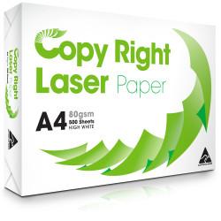 COPY & LASER PAPER COPY PAPER A4 80gsm White