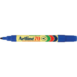 ARTLINE 70 PERMANENT MARKERS Med Bullet Blue