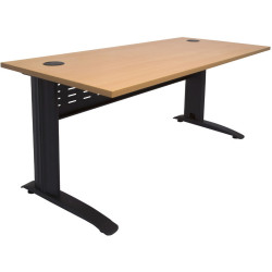 RAPID SPAN DESK W1800xH700mm Beech & Black