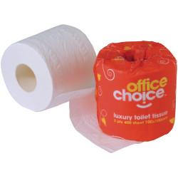 ^^400 Sht = $0.26 per 100 sheets TOILET ROLLS Premium 2 ply Bx48