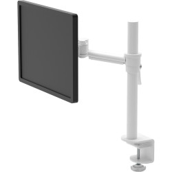 PLUTO SINGLE MONITOR ARM Full Motion Articulating Arm Easy Upgrade To Dual