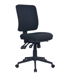 AVIATOR  ERGONOMIC CHAIR No Arms Ratchet back with Seat Slide