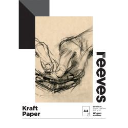 Reeves Kraft Pad A4 110gsm 50 Sheet