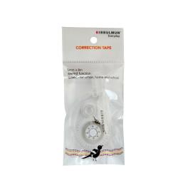 Bibbulmun Correction Tape 5mm x 8m Clear Hangsell