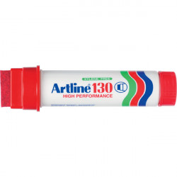 ARTLINE 130 PERMANENT MARKER Broad Red **YES, we have stock**