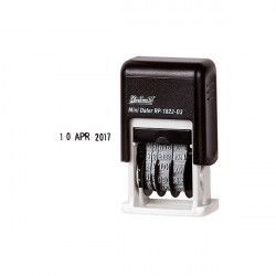 DESKMATE SELF-INKING DATER STAMP MINI DATER 3MM