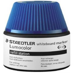 STAEDTLER LUMOCOLOR WHITEBOARD REFILL STATION - 48851-3 (Blue)