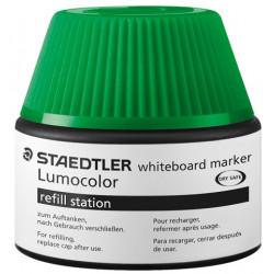 STAEDTLER LUMOCOLOR WHITEBOARD REFILL STATION - 48851-5 (Green)