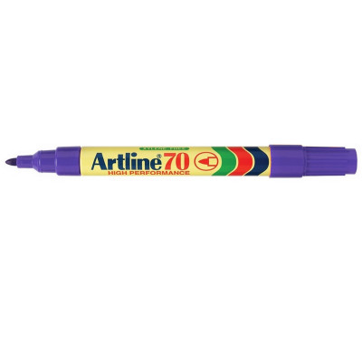 ARTLINE 70 PERMANENT MARKERS Med Bullet Purple