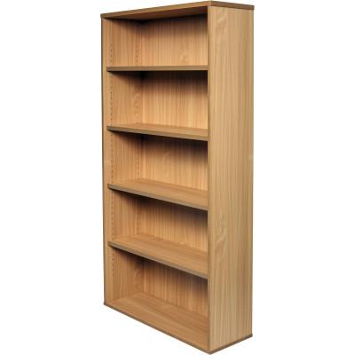 Rapid Span Bookcase 1800Hx900Wx315mmD 4 Adjustable Shelves All Beech